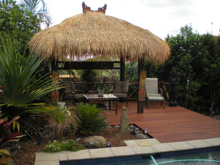 Thatched gazebo brisbane