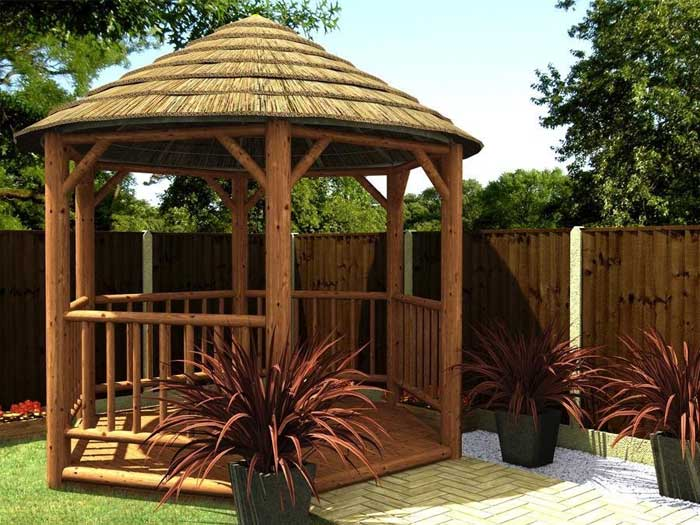 Thatched gazebo designs
