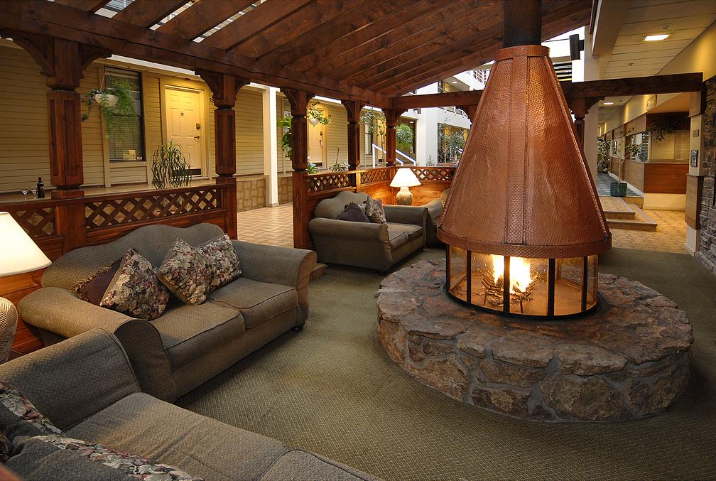 Indoor Wood Fire Pit