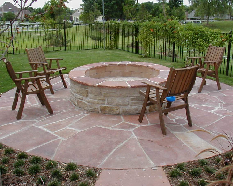 insider brick fire pit design ideas garden landscape