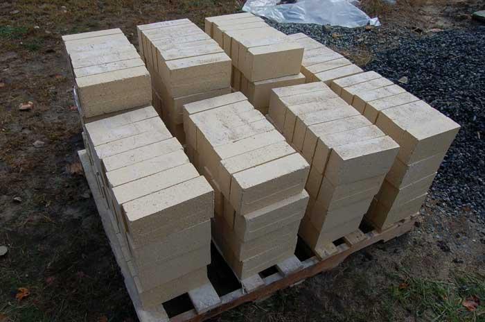 Bricks safe for fire pit