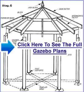 how to build a hexagon gazebo