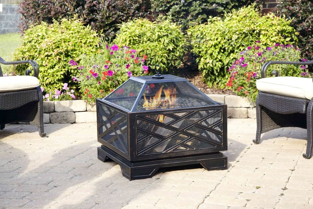Fire Pit Wood Grate