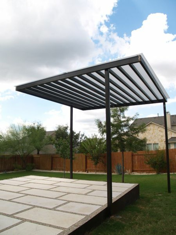 Metal Free Standing Garden Canopy Gazebo Pergola