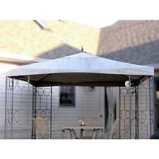 Review wrought iron gazebo canopy