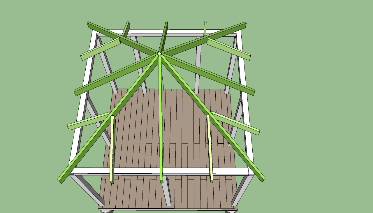 Extraordinary how to build a gazebo plans garden landscape for Gazebo construction details