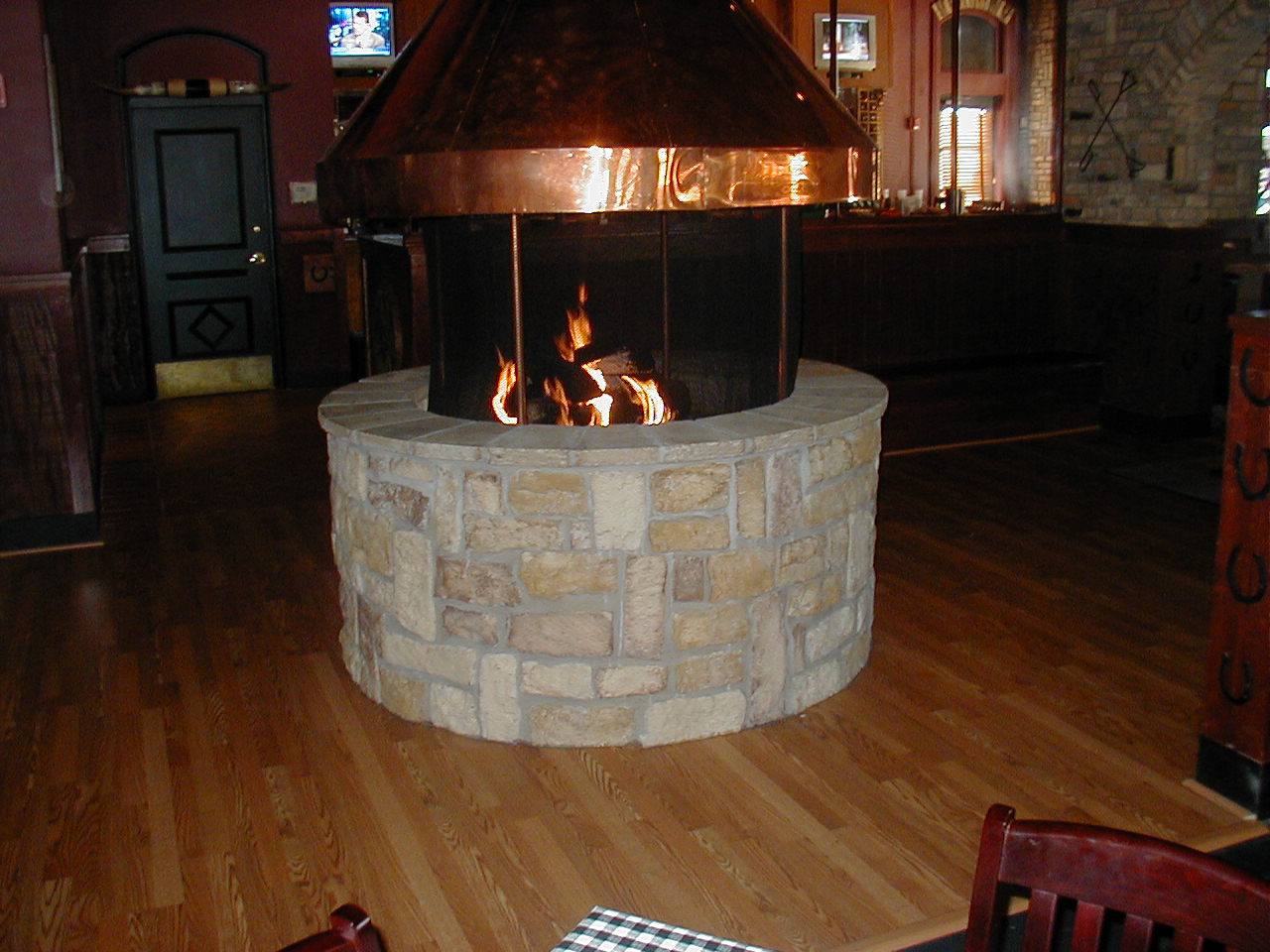 Astonishing Indoor Fire Pit Chimney | Garden Landscape