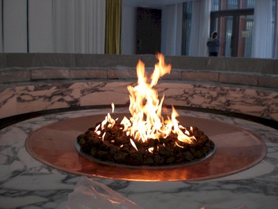 Fake Indoor Fire Pit