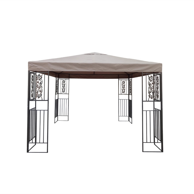 wrought iron gazebo canopy