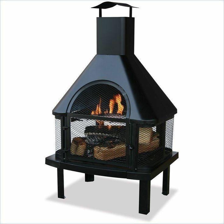 Wood Burning Chiminea Fire Pit