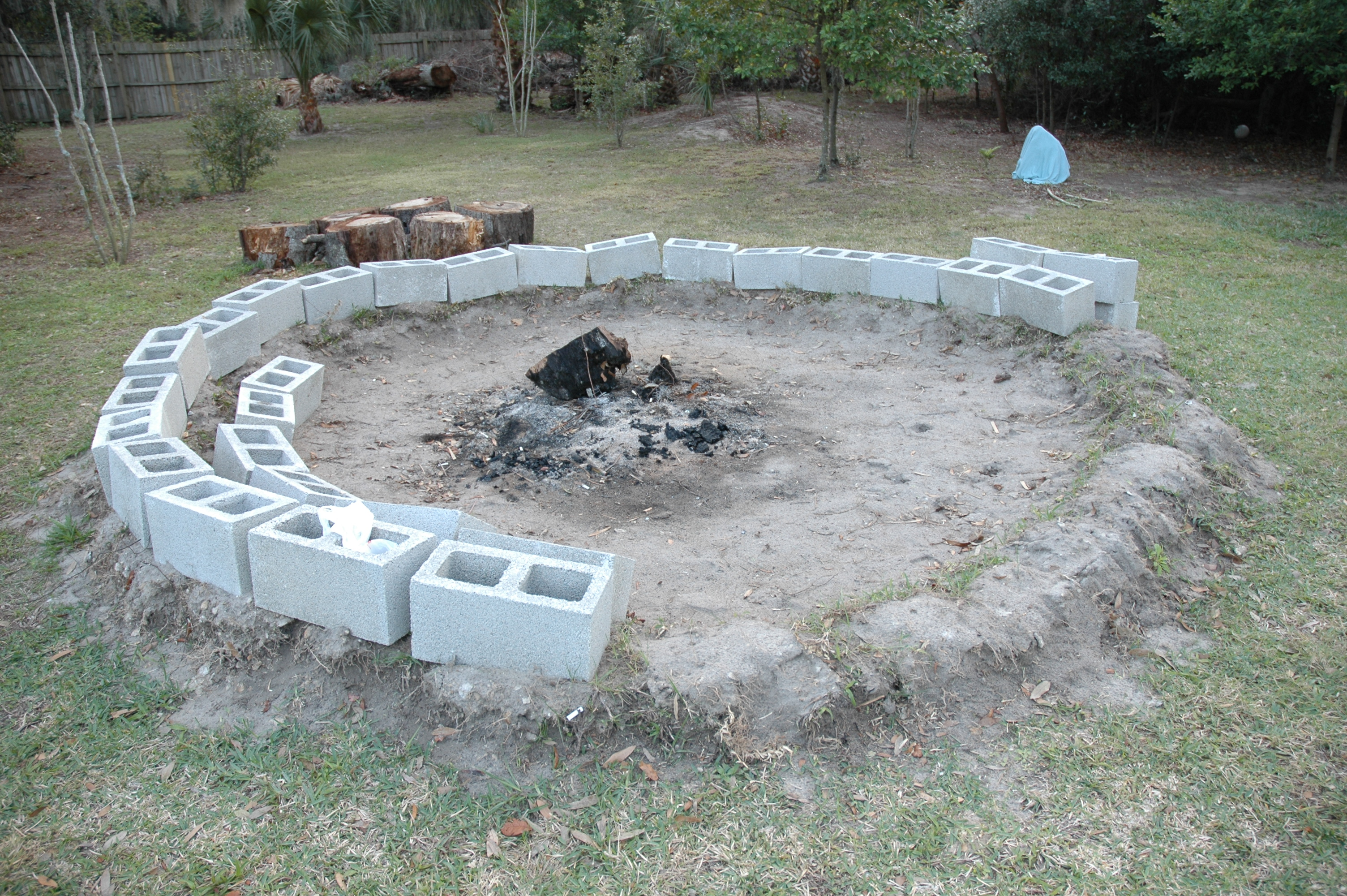 Wonderful Concrete Fire Pit Ideas Garden Landscape