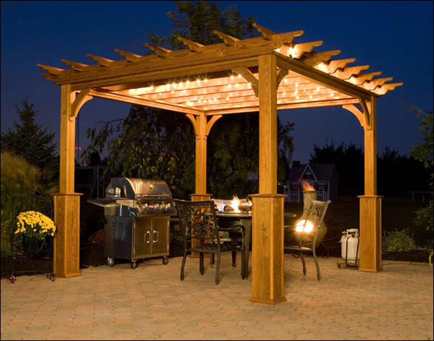 download free standing pergola plans plans free - Free Pergola Designs For Patios