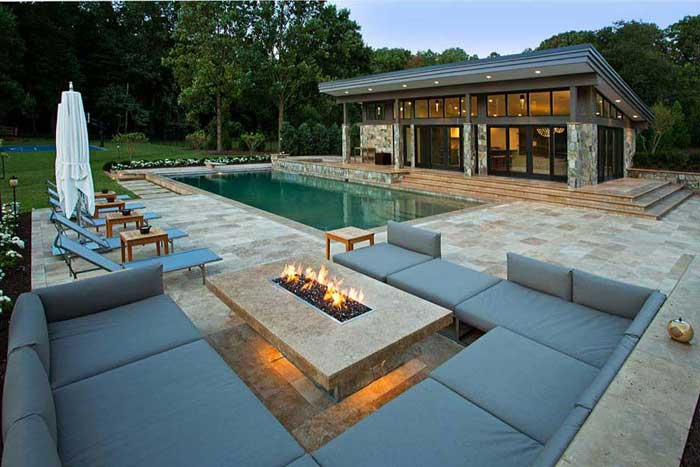 Gas outdoor fire pit ideas