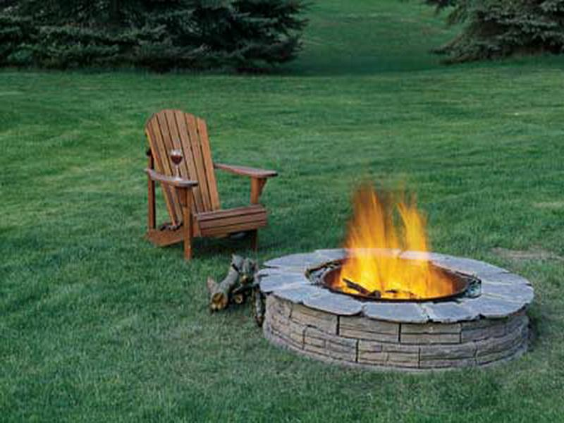 Popular In Ground Square Fire Pit | Garden Landscape
