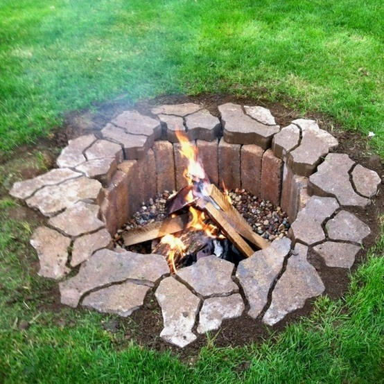 Building An In Ground Fire Pit