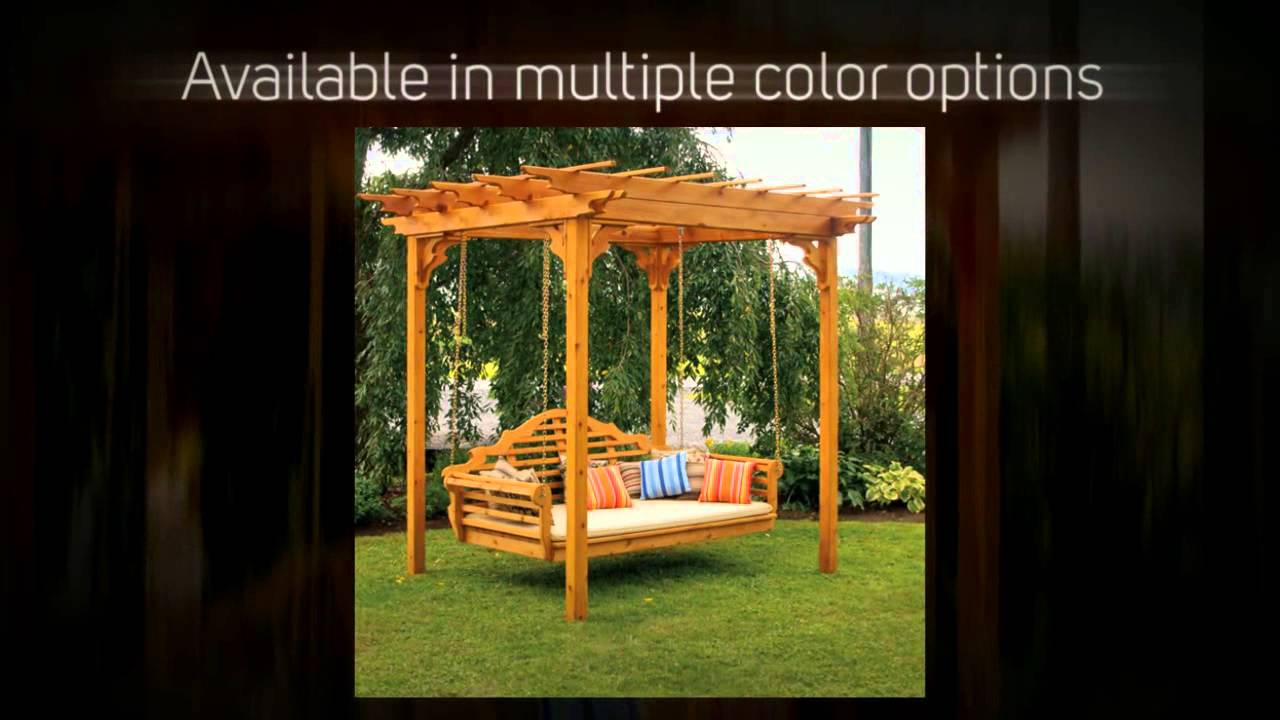 Extraordinary Pergola Swing Stand Plans | Garden Landscape