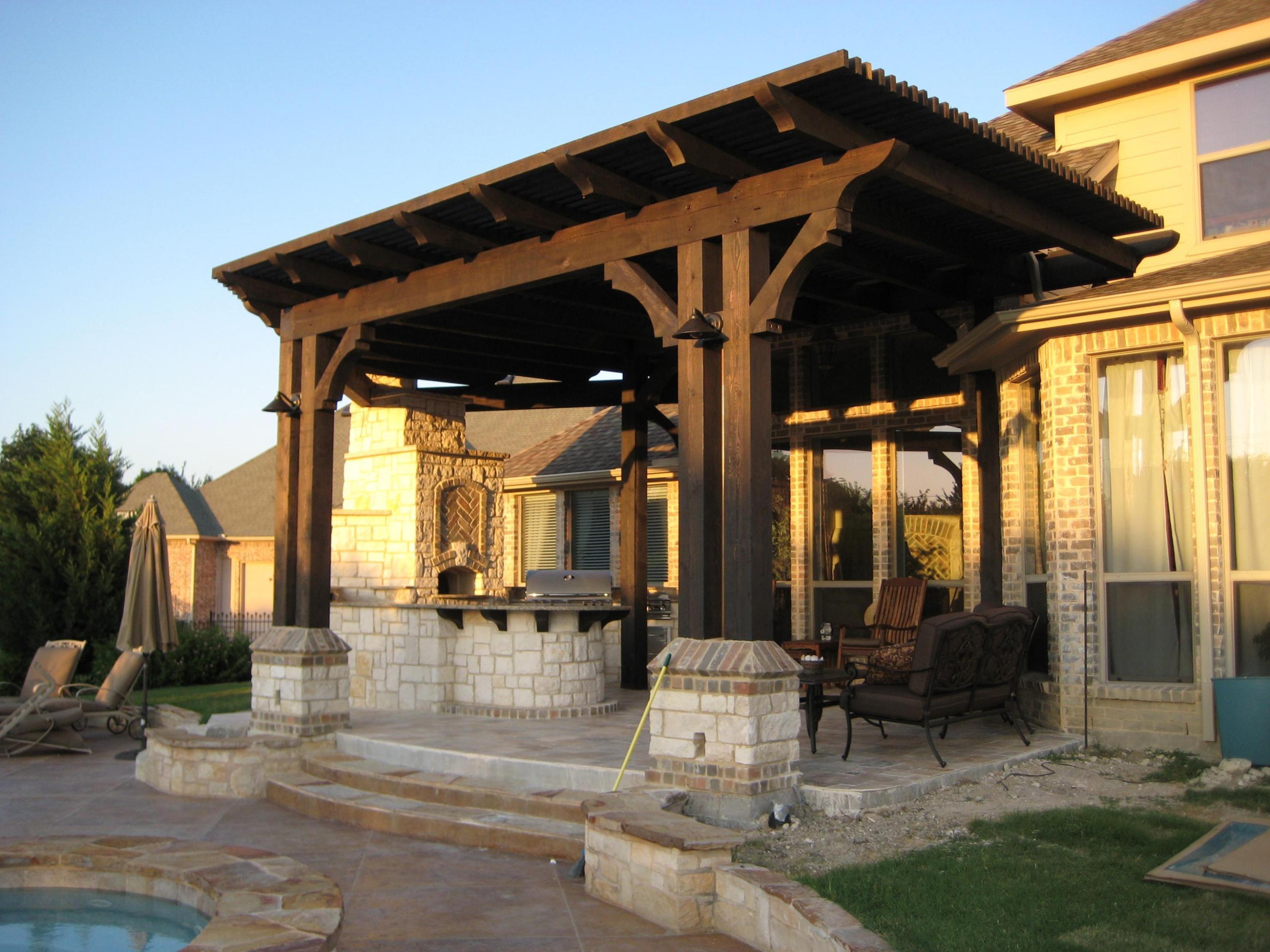 buy modern pergola roof garden landscape. Black Bedroom Furniture Sets. Home Design Ideas
