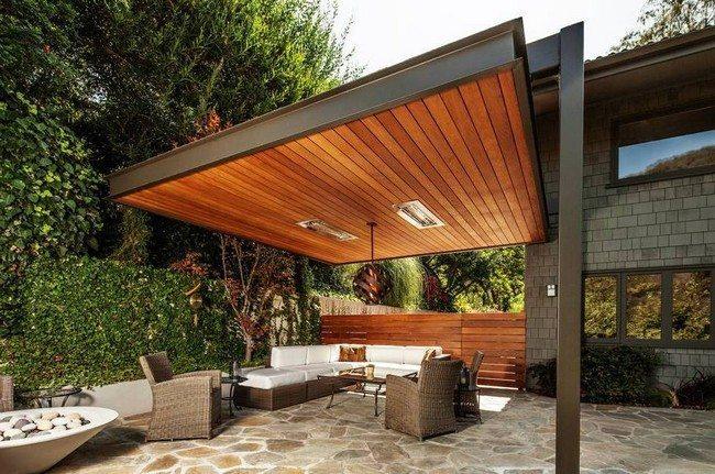 Buy Modern Pergola Roof | Garden Landscape