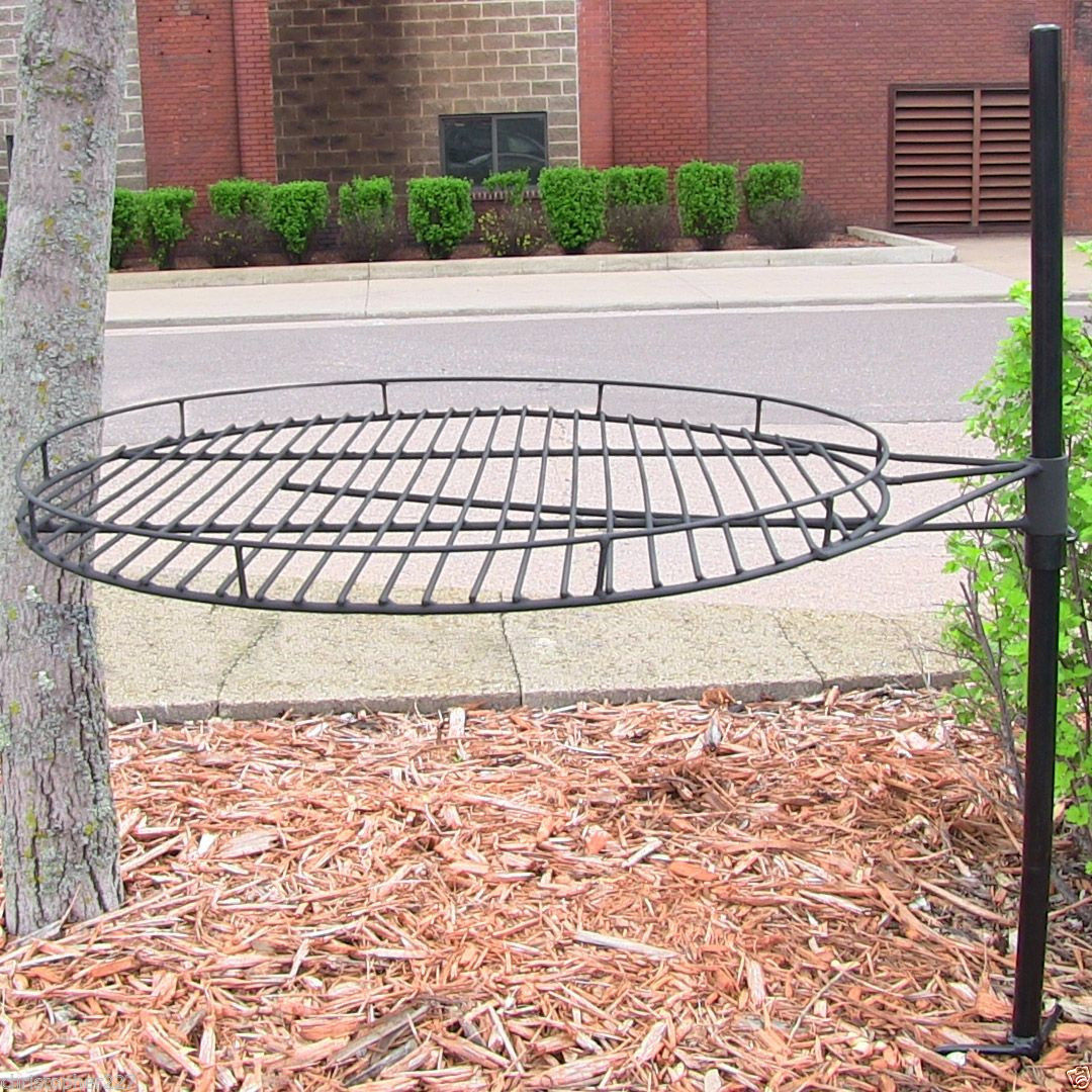 Garden Treasures Fire Pit Adjustable Cooking Grate