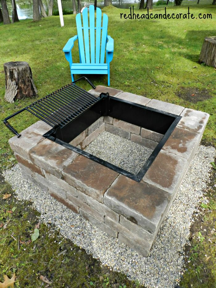 diy fire pit cooking grate chuckwagon campfire cooking rack with
