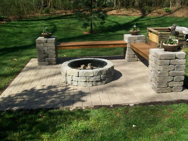 Low Price Lowes Brick Fire Pit Kit Garden Landscape