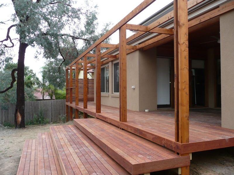 Astounding Modern Deck Pergola Garden Landscape