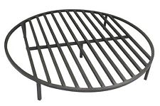 "Round Fire Pit Grate 36"" Heavy Duty Grill Cooking Campfire Camp Ring 1/2″ Steel"