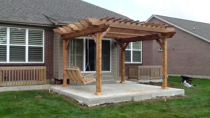 Incredible Free Standing Pergola Plans Designs Garden