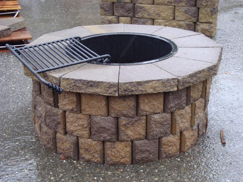 Brick Fire Pit Ring