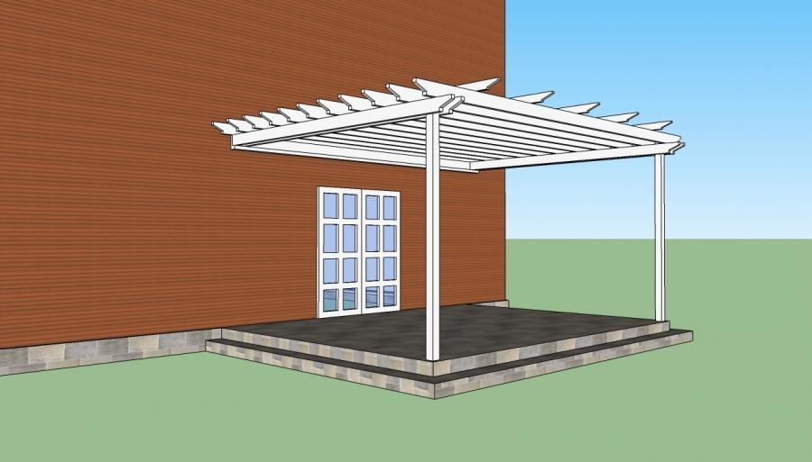How To Build A Pergola Attached To Your House