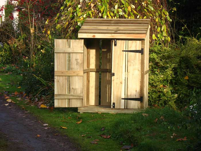 Log store with doors uk