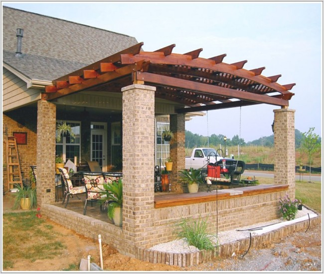 Low Price Pergola Attached To House Ideas | Garden Landscape