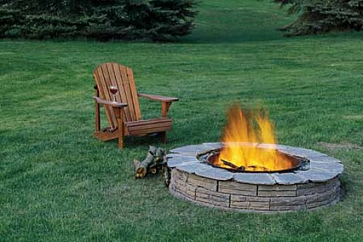 Built In Fire Pit Pictures