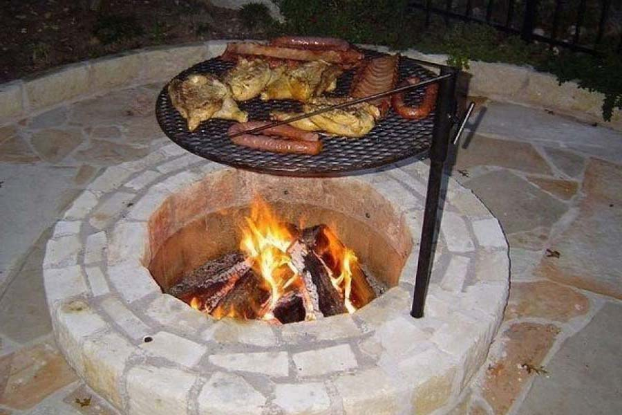 Diy Fire Pit Cooking Grate