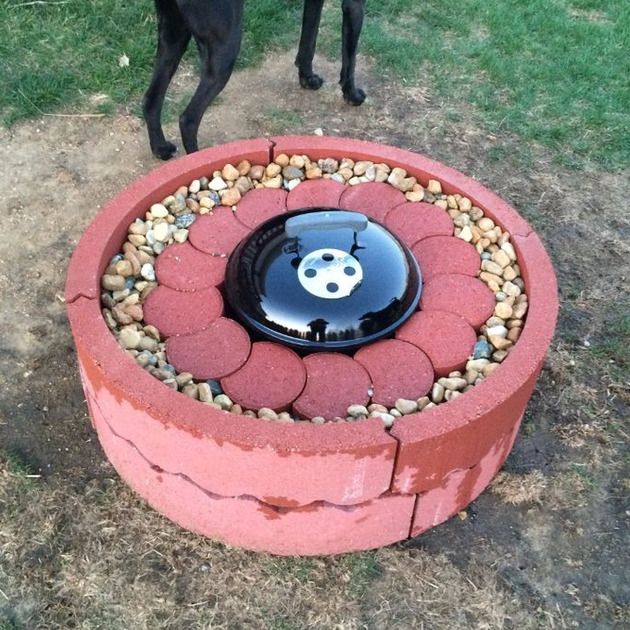 Concrete Fire Pit Ring