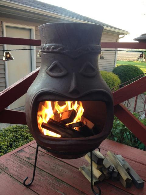 Unbelievable Chiminea Fire Pit Menards | Garden Landscape