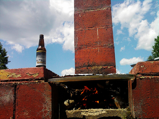 life summer beer fire still maine grill tuckerman firepit cookout
