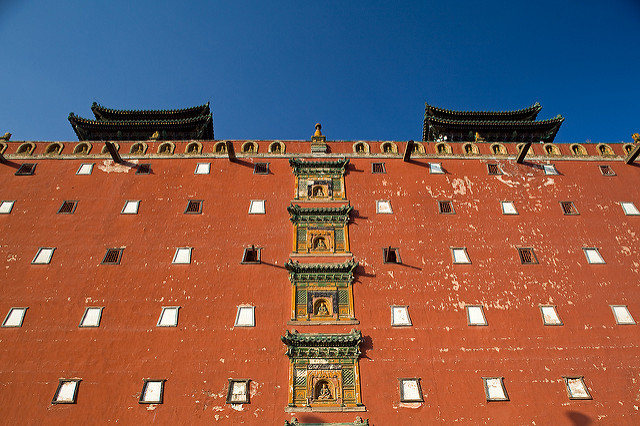 china travel tourism religion royal hebei 旅游 qingdynasty chengde potalapalace 承德 河北 清朝 外八庙 小布达拉宫