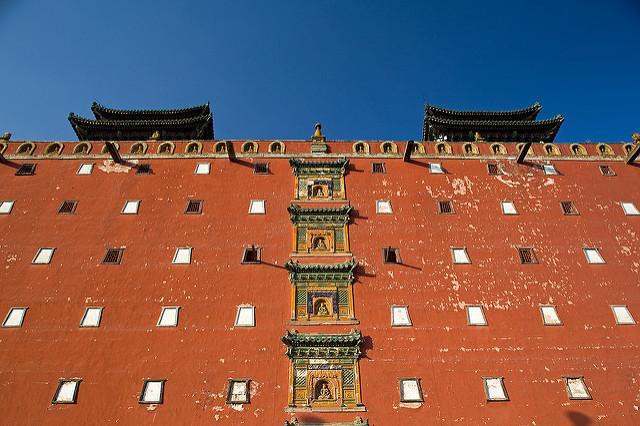 china travel tourism religion royal hebei 旅游 qingdynasty chengde potalapalace 承德 河北 清朝 外八庙 小布达拉宫