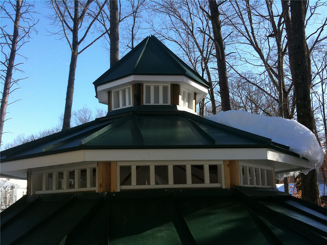 roof metal gazebo