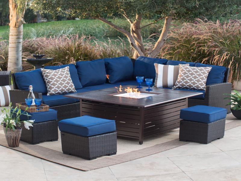 Benefits fire pit patio set