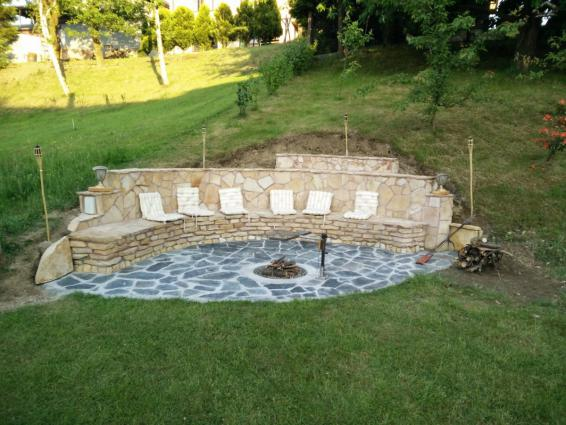 Current fire pit seating area ideas