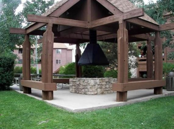 Astonishing octagon screened gazebo