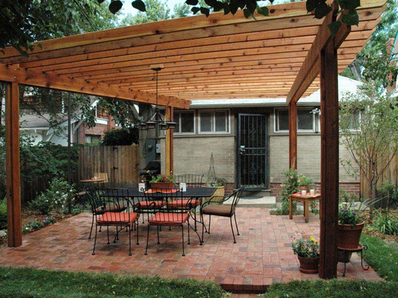 Ways to get a suitable wood pergola