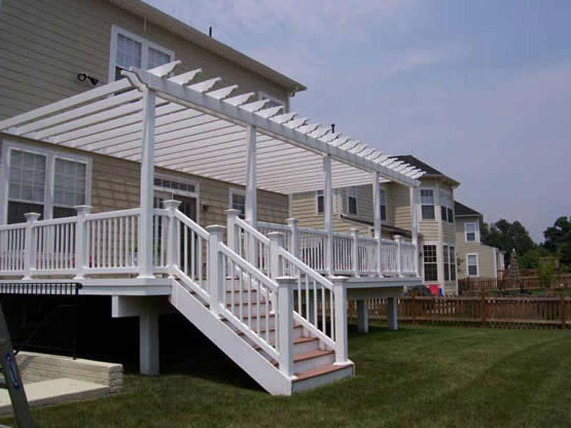 Building Pergola On Existing Deck