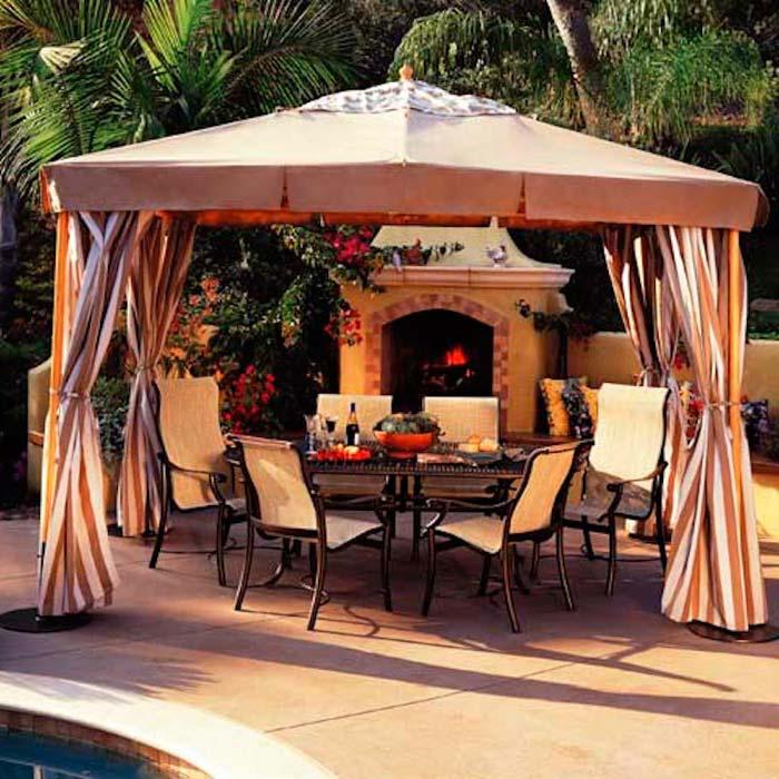 Canopy Gazebos For Decks