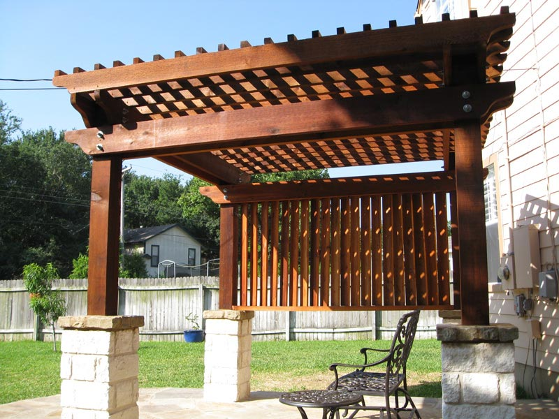 Cedar Pergola Design
