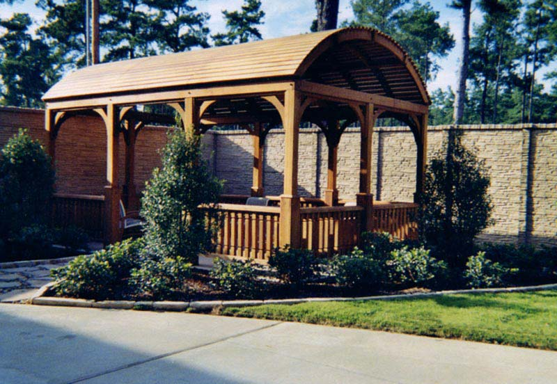 Garden Pergola With Roof