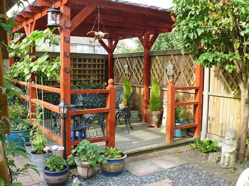 Garden Trellis Pergola