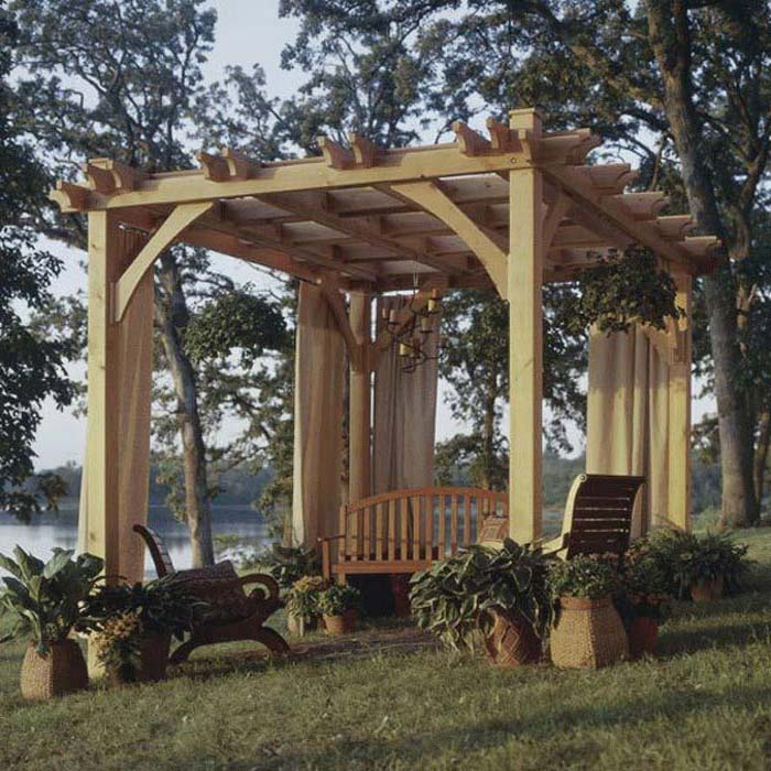 How To Make A Pergola: Schemes And Instructions